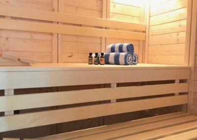 05/2020 – Die Sauna ist fertig